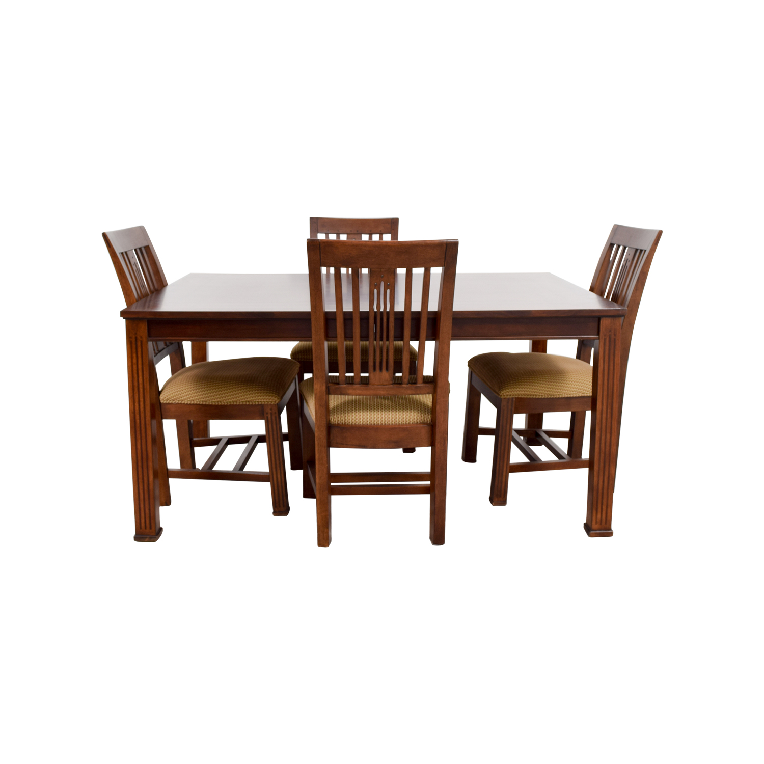 Macy's Macy's Craft Mission Shaker Table and Chairs second hand