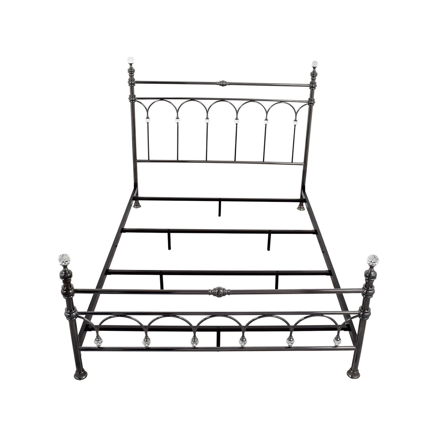 Tribecca Home Florence Victorian Queen Bed Frame sale