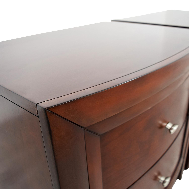 Macys Macys Yardley Two-Drawer Nightstand on sale