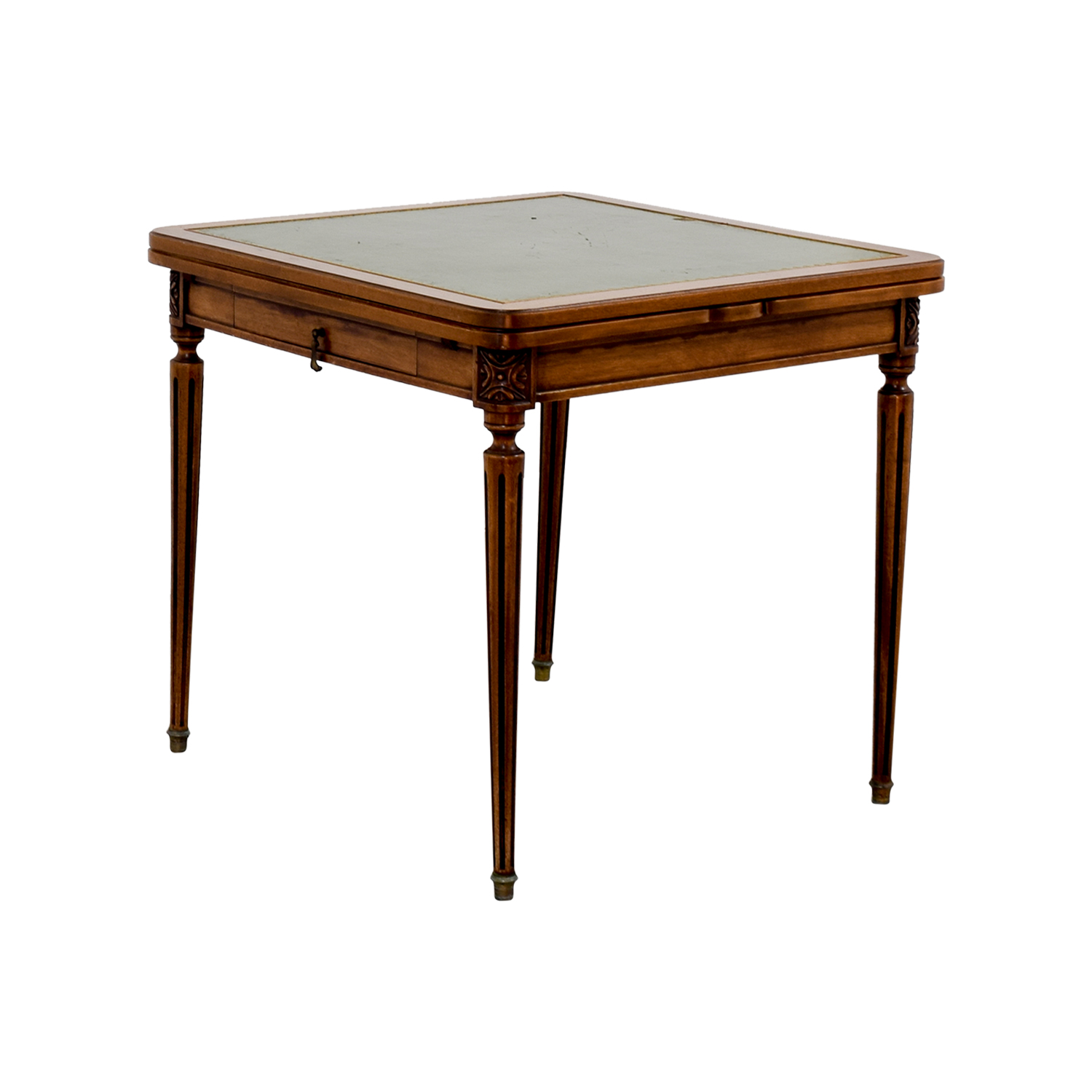 Custom Made French Antic Card Table discount