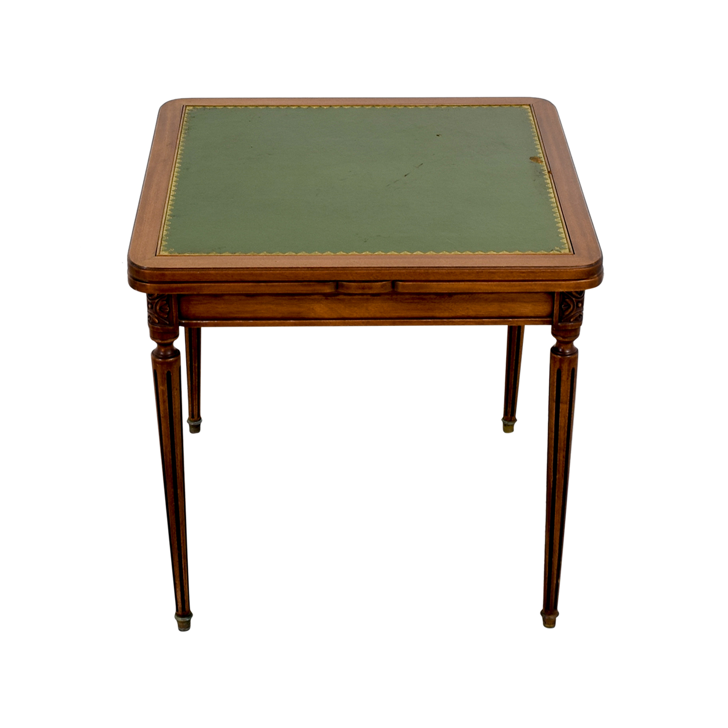Custom Made French Antic Card Table second hand