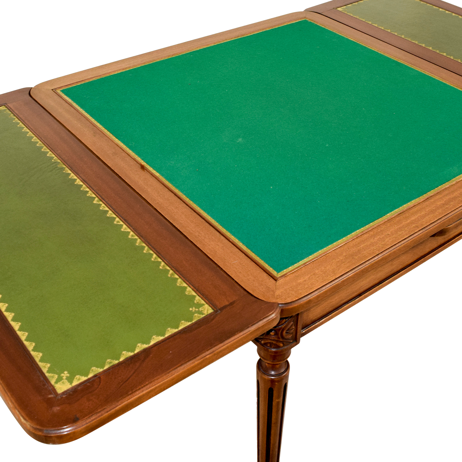 Custom Made French Antic Card Table