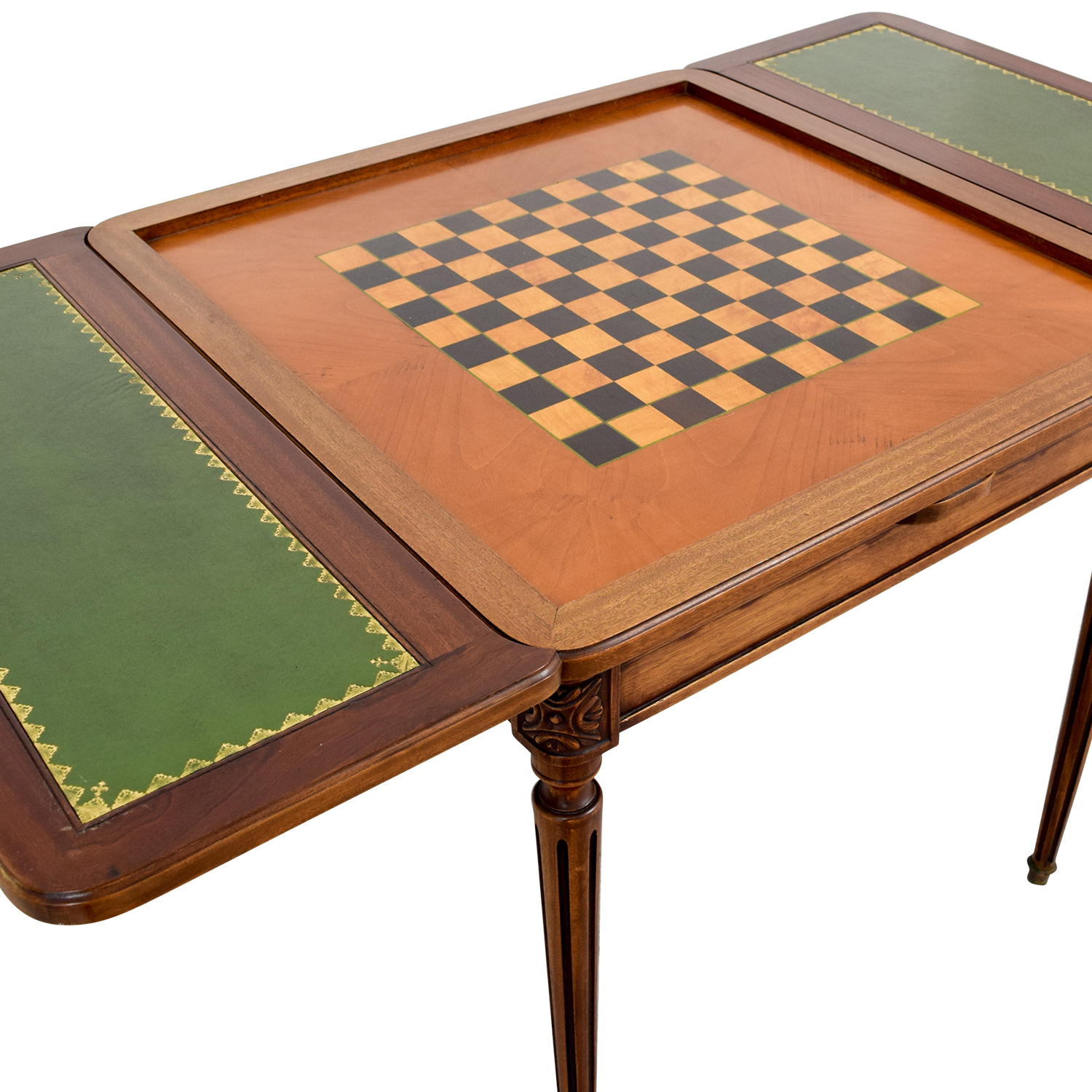 Custom Made French Antic Card Table nyc