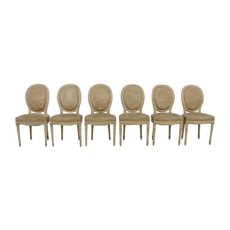 Antique Tan French Chairs coupon