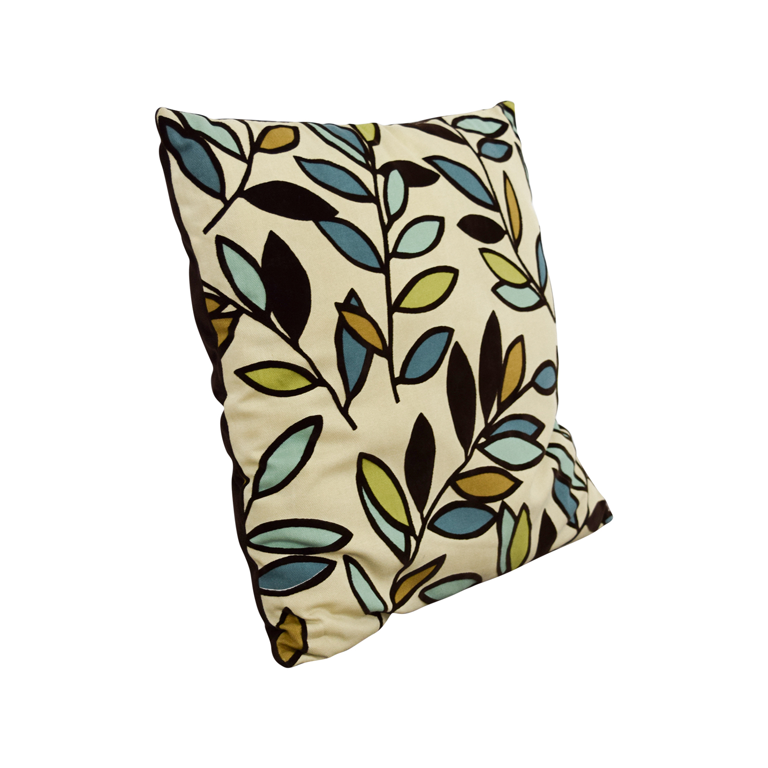 Therapy Therapy Leaves Throw Pillow nj