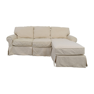Home Decorators Collection Home Decorators Collection Mayfair White Sectional nyc
