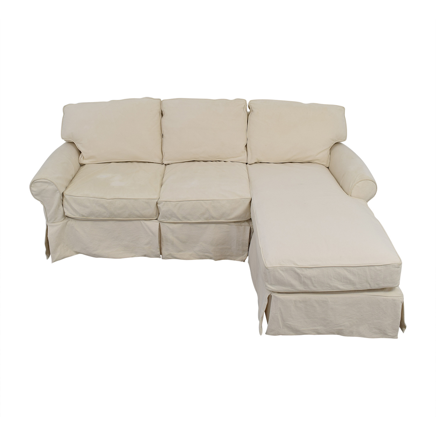 Home Decorators Collection Home Decorators Collection Mayfair White Sectional Sofas