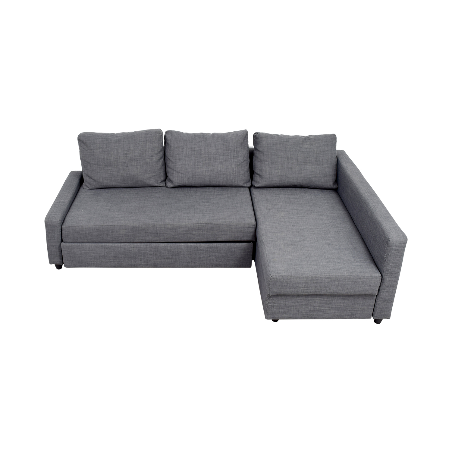 IKEA IKEA Grey Sleeper Chaise Sectional used