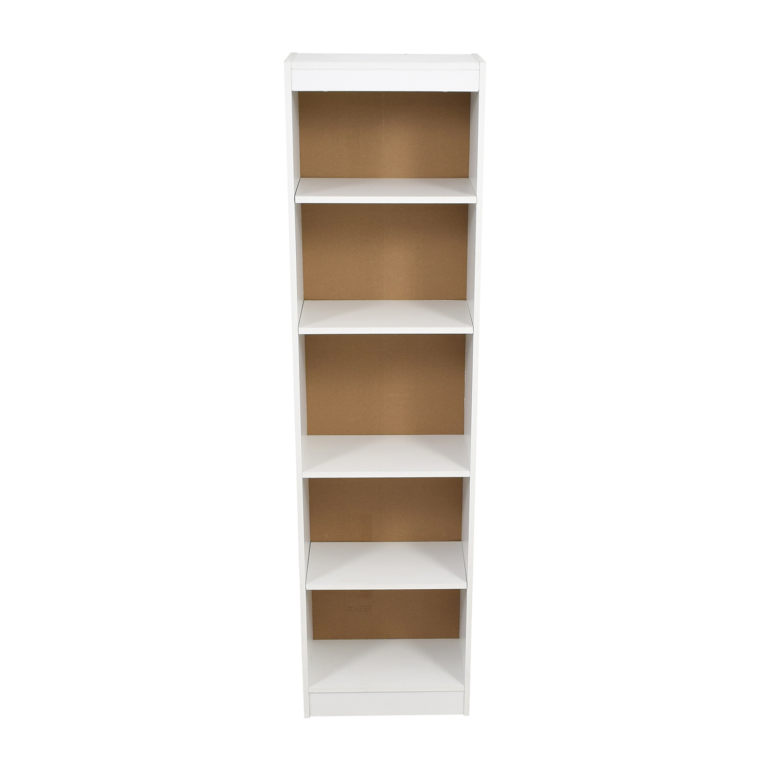South Shore Axess South Shore Axess White Narrow Book Case discount