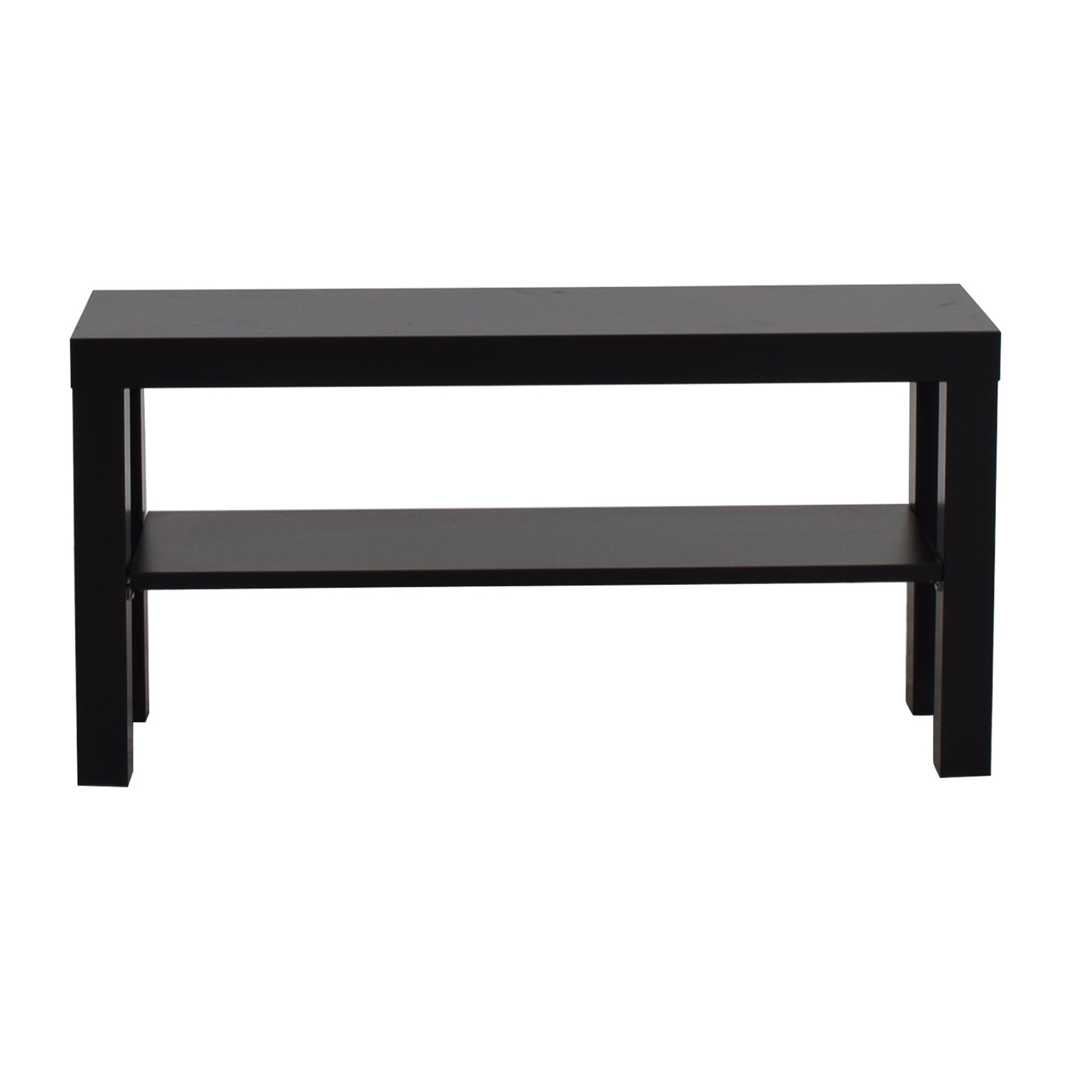 Ikea lack sofa table lack coffee table oak effect 90x55 cm for Lack sofa table hack