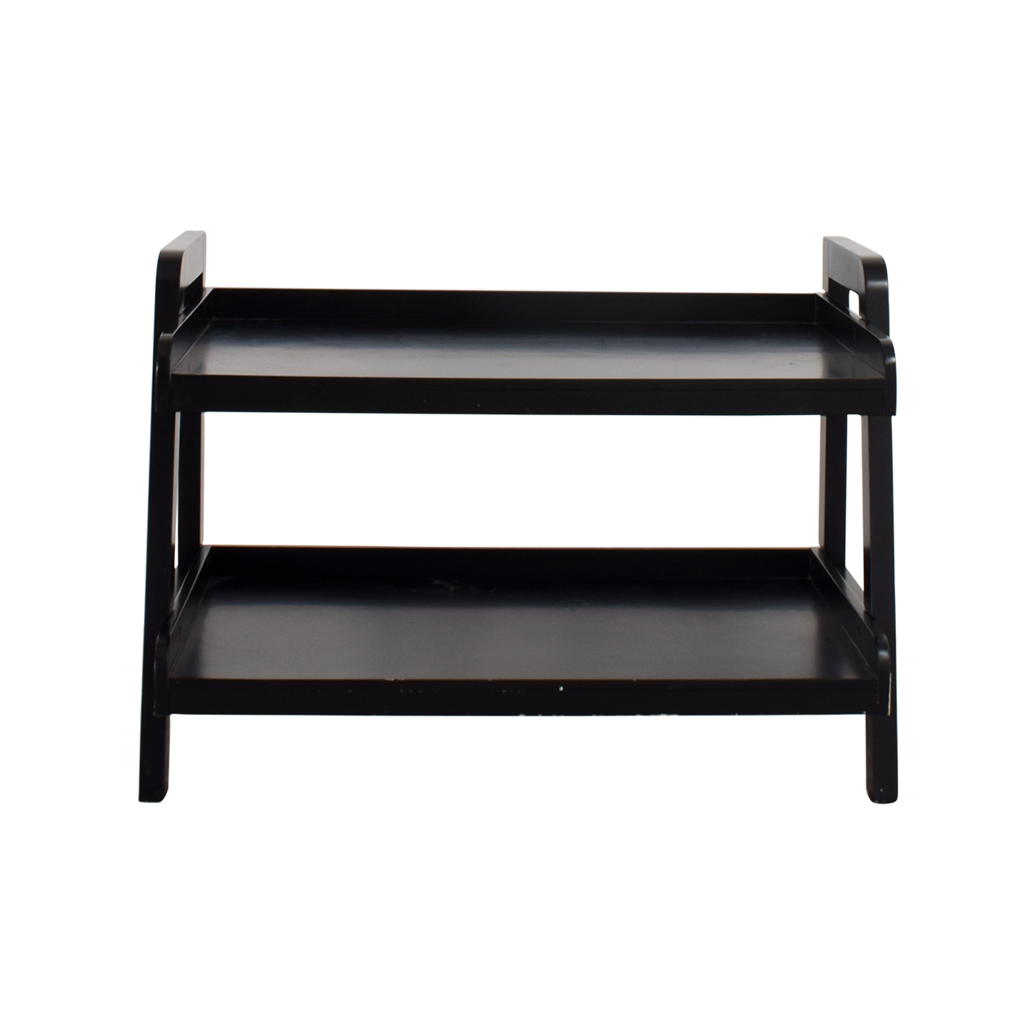 Pottery Barn Pottery Barn Black TV Stand dimensions