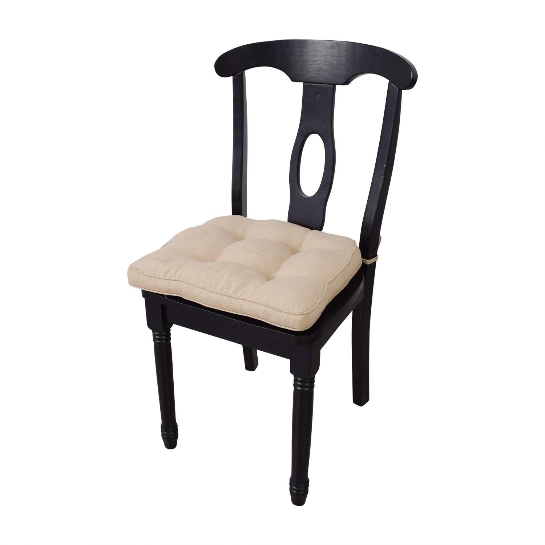 Martha Stewart Martha Stewart Dining Set with Beige Upholstered Chairs nj