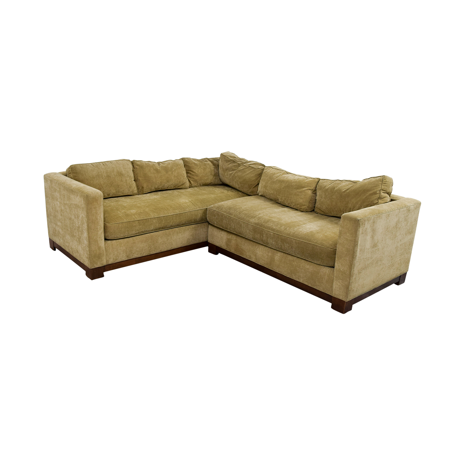 buy Mitchell Gold + Bob Williams Gold Sectional Mitchell Gold + Bob Williams Sectionals