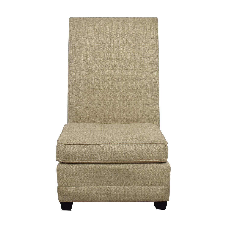 Bernhardt Beaumont Cream Accent Chair / Chairs