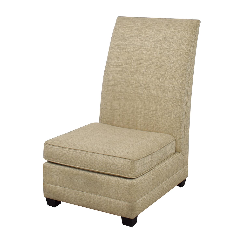buy Bernhardt Beaumont Cream Accent Chair Bernhardt