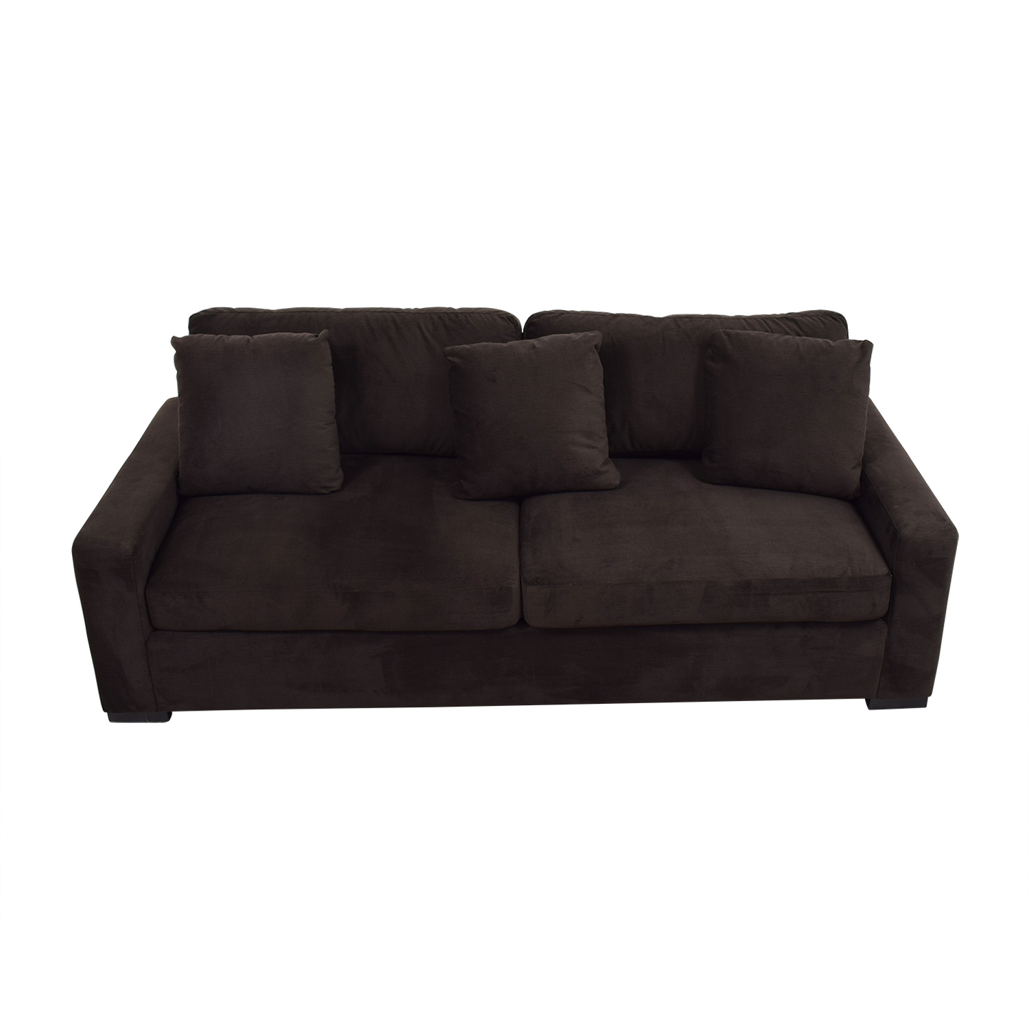 shop Bernhardt Jefferson Brown Sofa Bernhardt