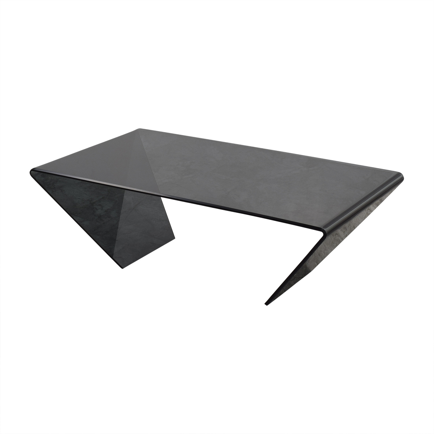 90 off j m furniture j m furniture bent black glass coffee table tables Used glass coffee table