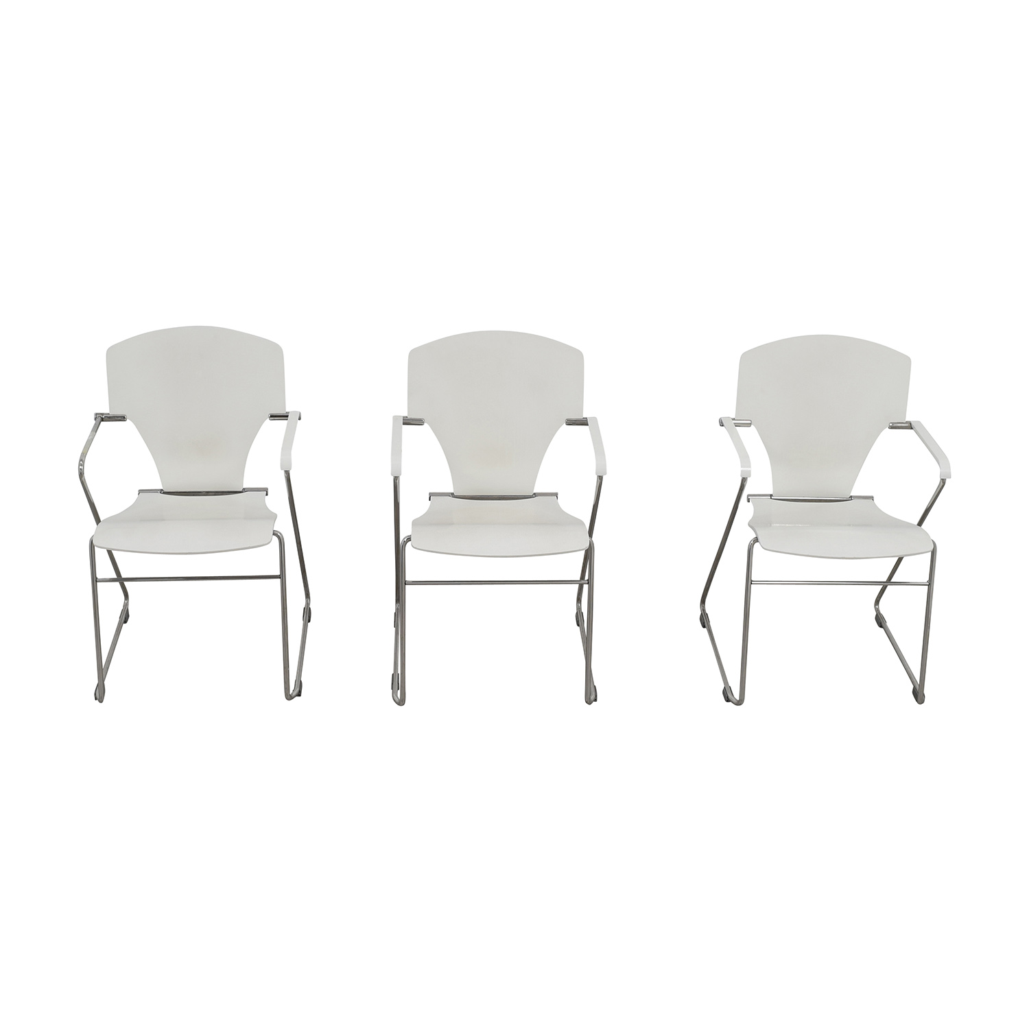 63% OFF Stua Stua Egoa White Dining Chairs Chairs