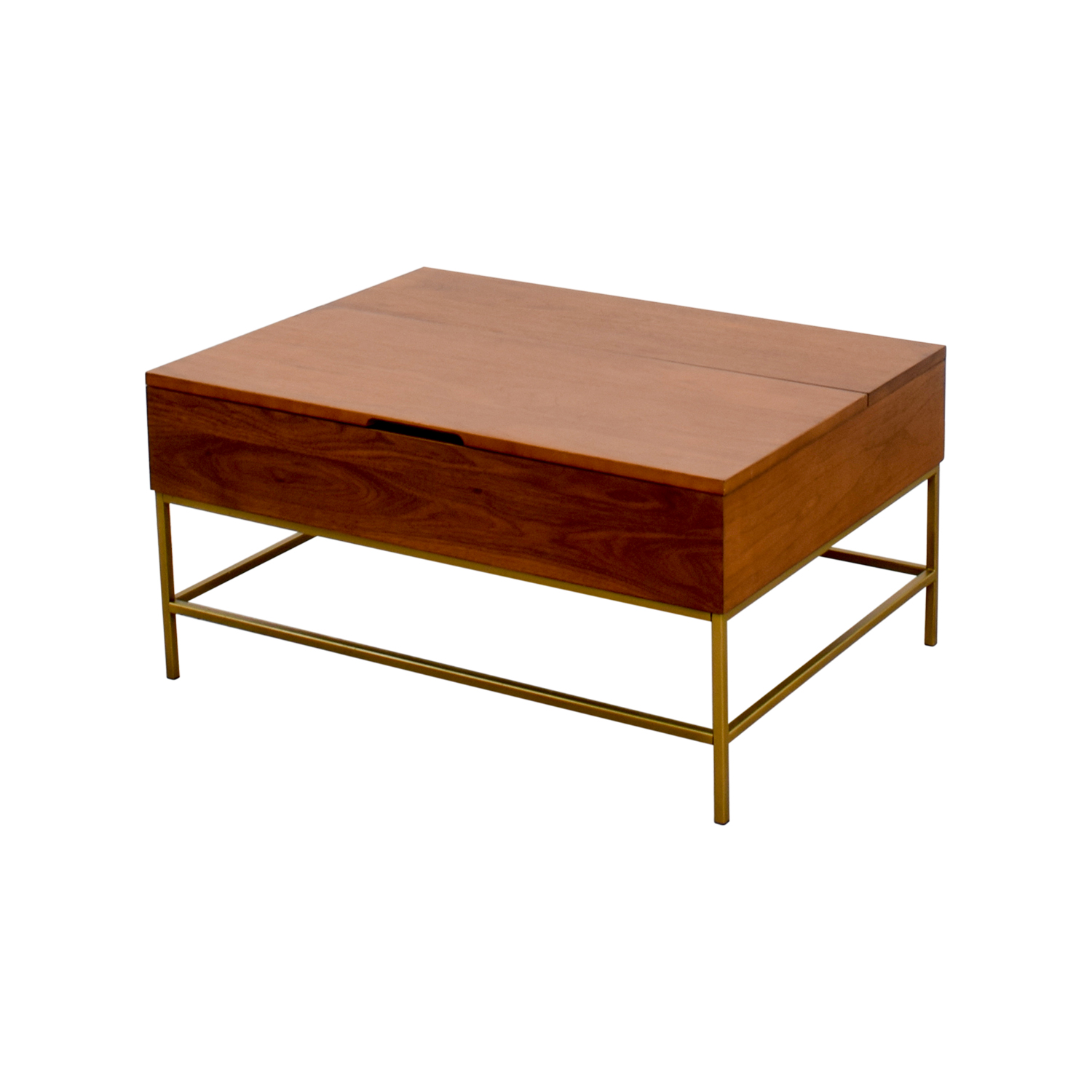 41 OFF West Elm West Elm Storage Coffee Table Tables