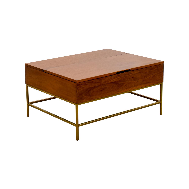 Lacquer Storage Coffee Table West Elm: West Elm West Elm Storage Coffee Table / Tables