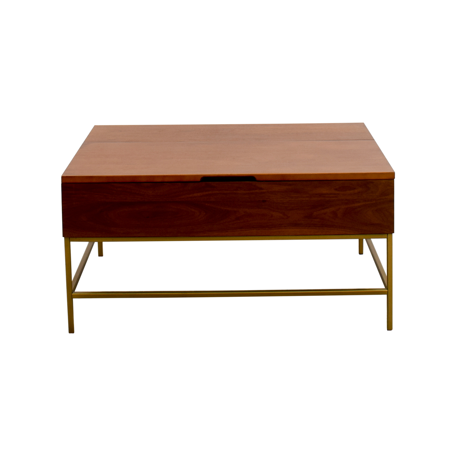 West Elm West Elm Storage Coffee Table brown
