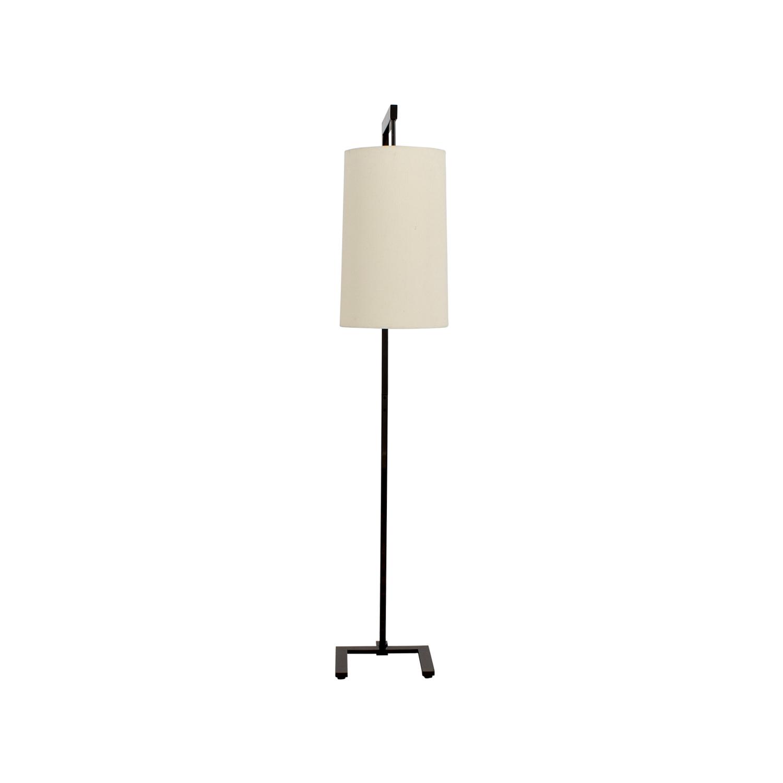 Metal U-Shaped Base Floor Lamp second hand