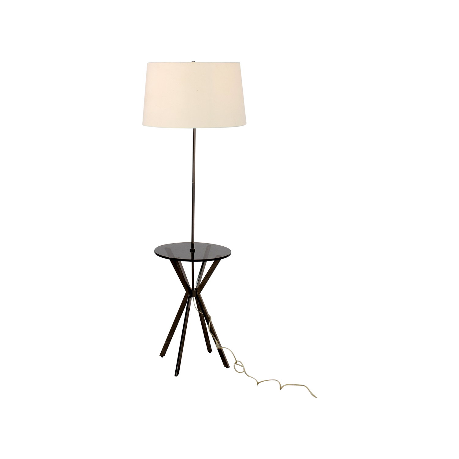 59 off west elm west elm floor lamp with table attached decor west elm west elm floor lamp with table attached second hand aloadofball Gallery