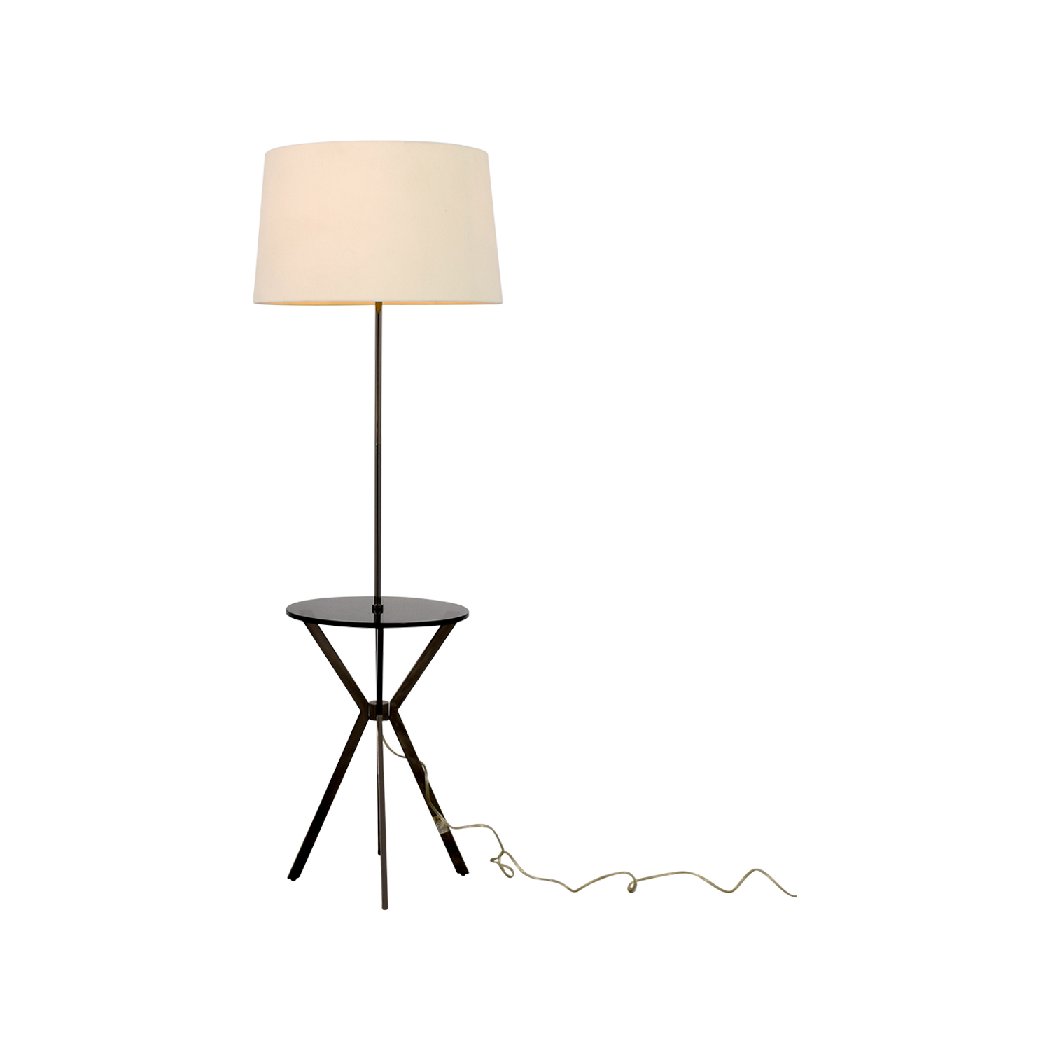 ... West Elm West Elm Floor Lamp With Table Attached Price ...