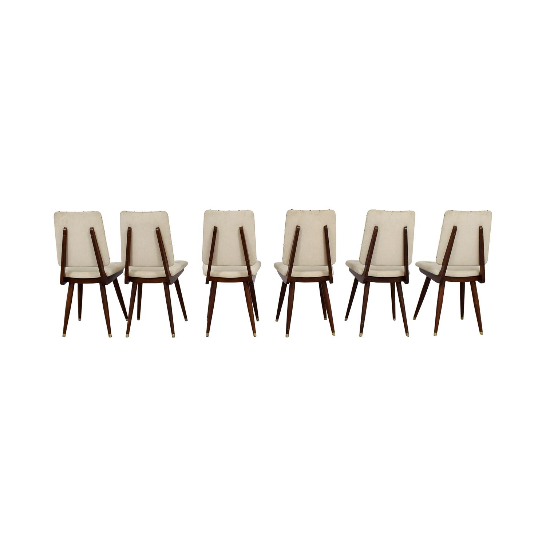 Jonathan Adler Jonathan Adler Camille Khaki Dining Chairs on sale