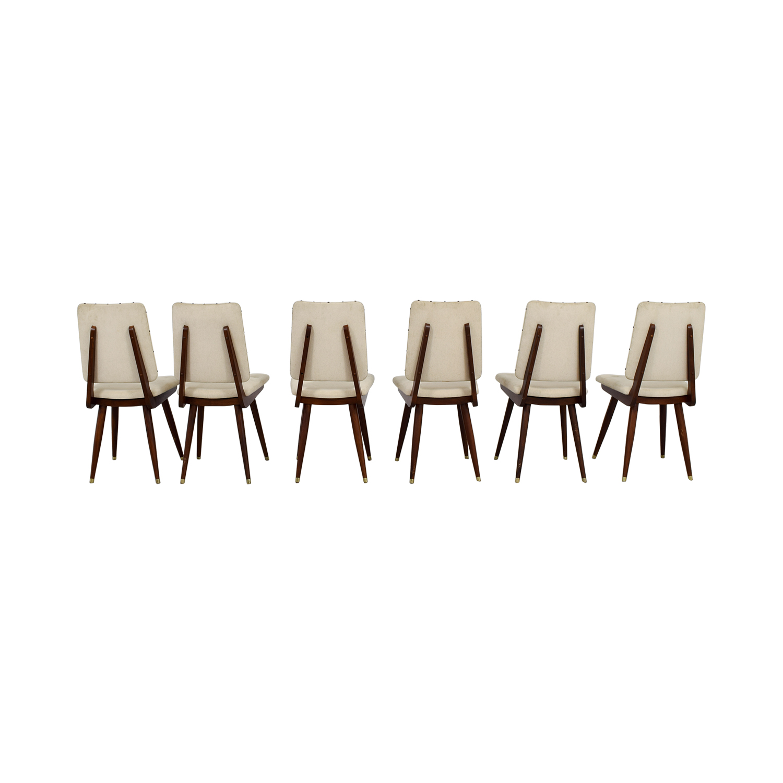 shop Jonathan Adler Camille Khaki Dining Chairs Jonathan Adler Chairs