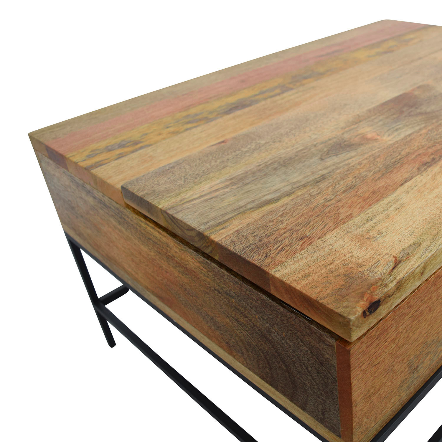 shop West Elm Industrial Storage Coffee Table West Elm Tables