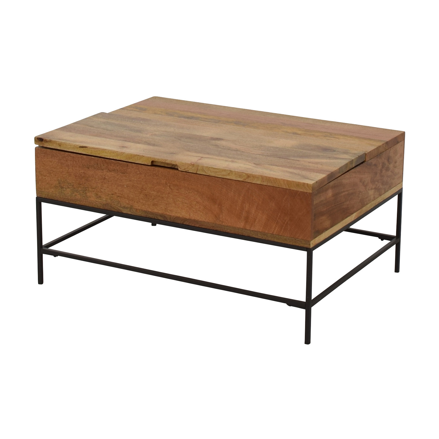 63 off west elm west elm industrial storage coffee for West elm coffee table sale