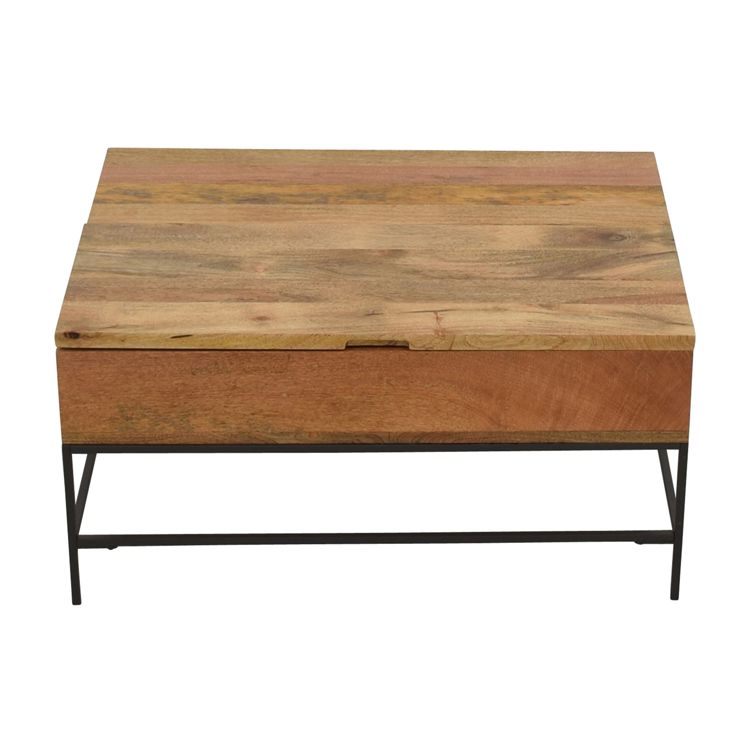 West Elm Industrial Storage Coffee Table / Coffee Tables