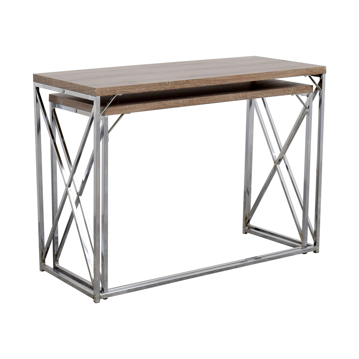 Genial ... Monarch Monarch Rustic Nesting Console Tables Discount ...