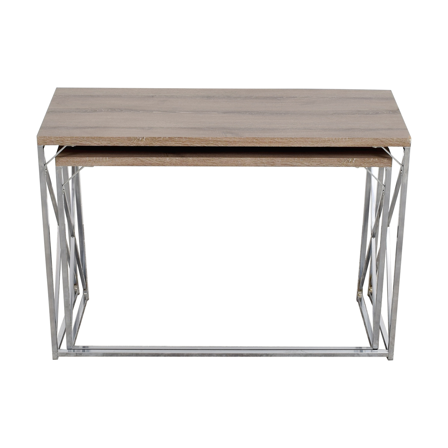 Monarch Rustic Nesting Console Tables / Tables