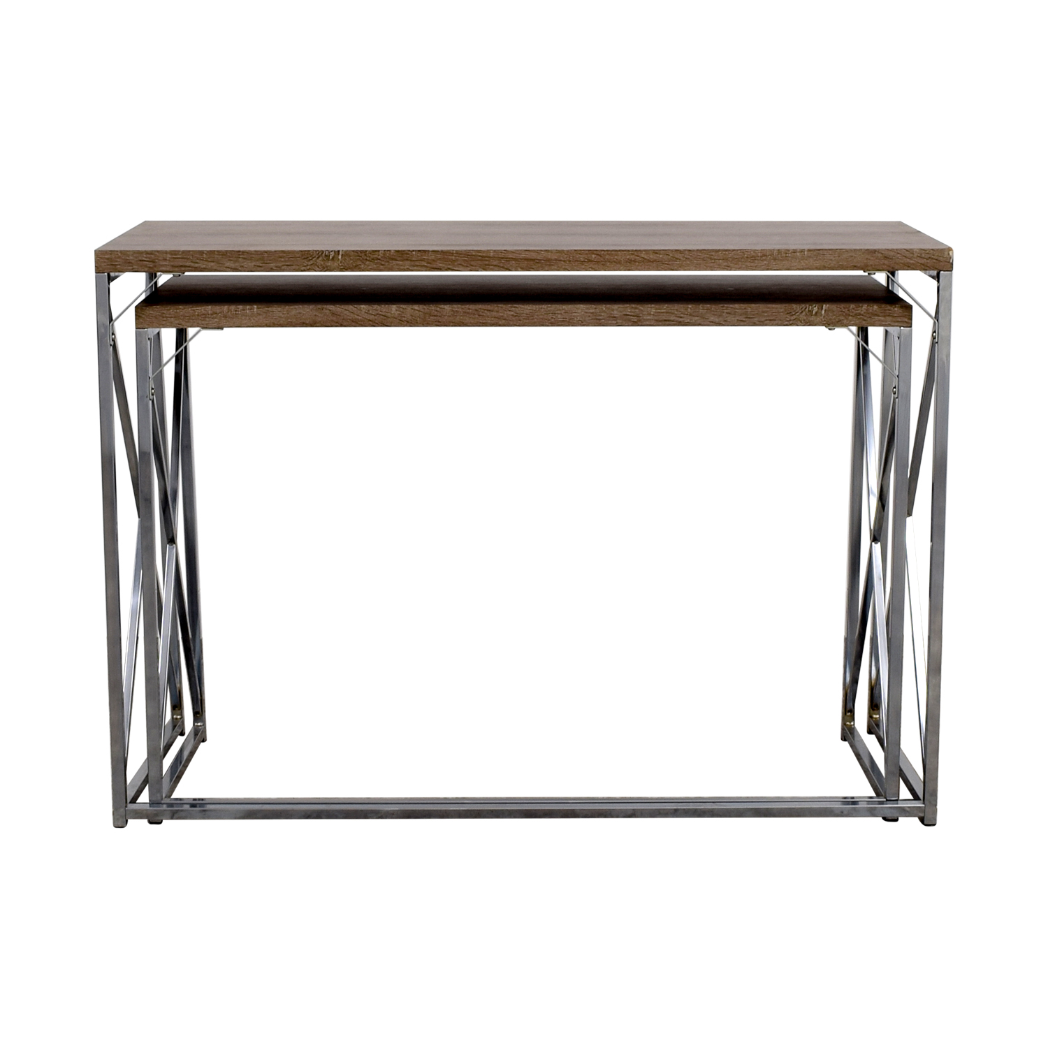 Monarch Monarch Rustic Nesting Console Tables for sale
