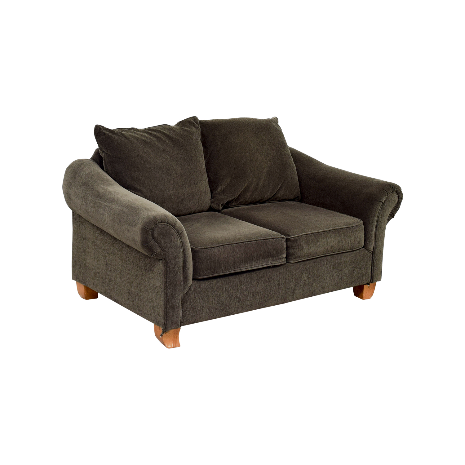40 off star furniture star furniture brown curved arms for Star furniture