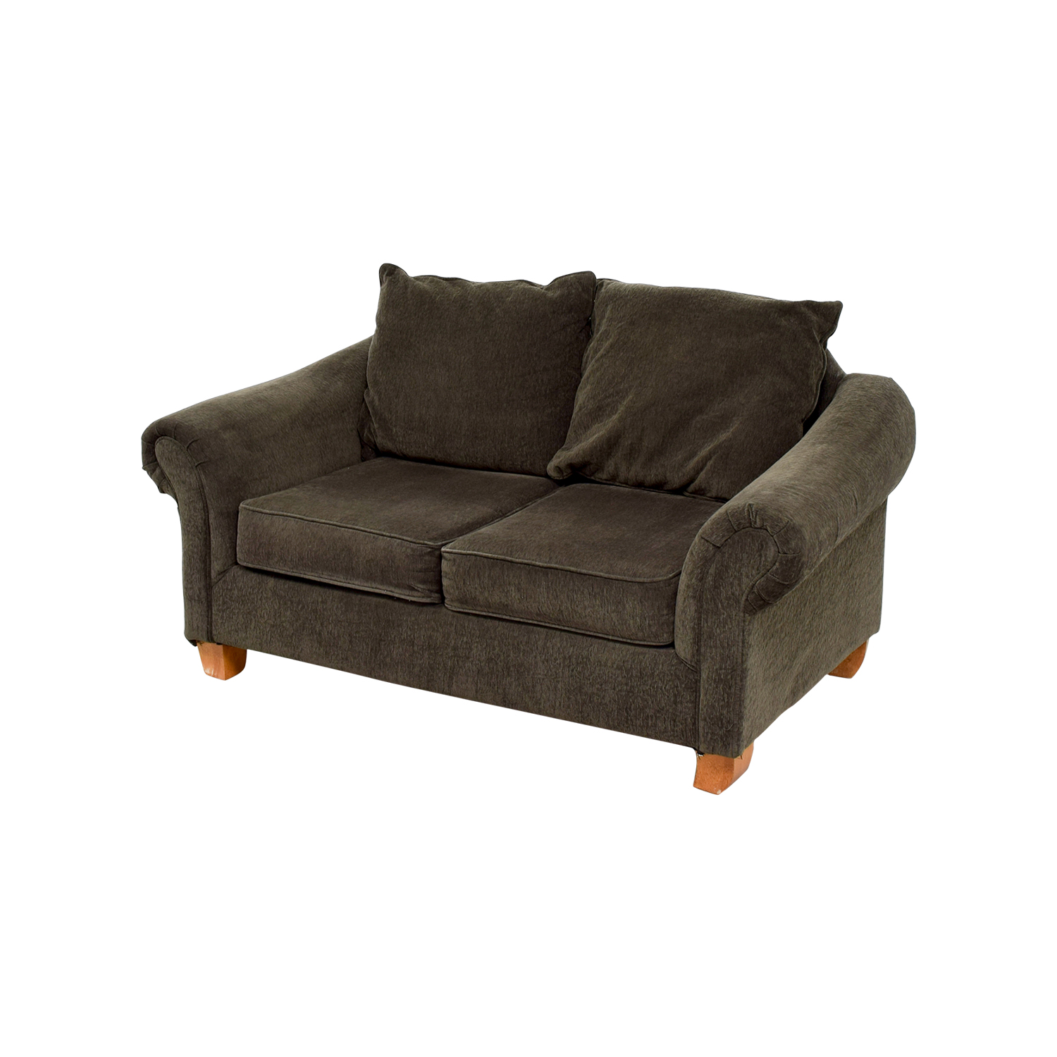 40 Off Star Furniture Star Furniture Brown Curved Arms Loveseat Sofas