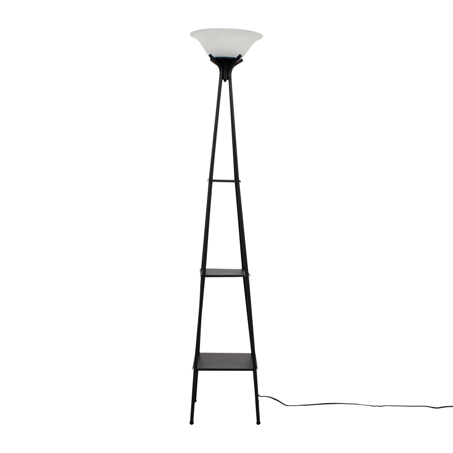 51 off walmart walmart tower floor lamp decor walmart walmart tower floor lamp black aloadofball Images