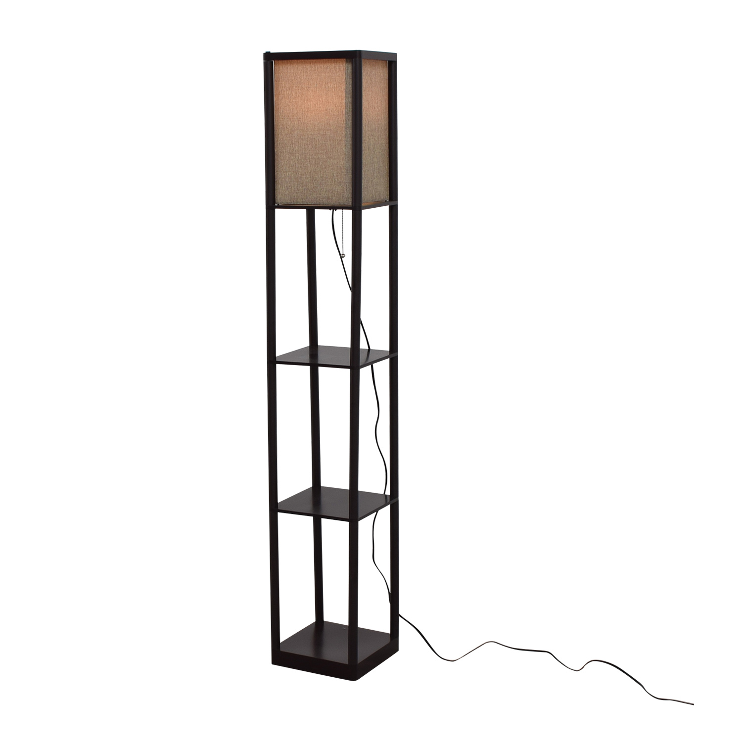 71 off walmart walmart tripod floor lamp with accordion shade decor. Black Bedroom Furniture Sets. Home Design Ideas