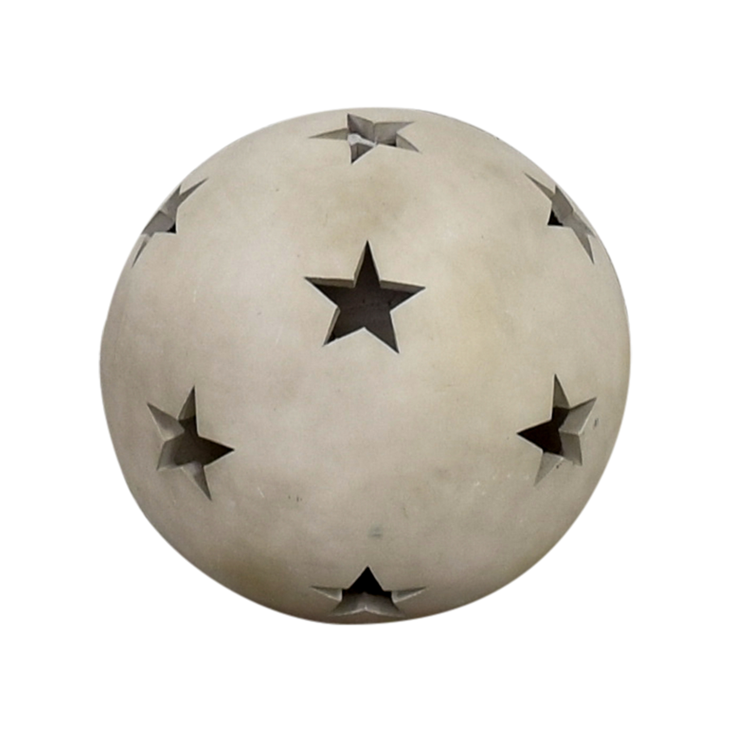 Clay Star Ball / Decorative Accents