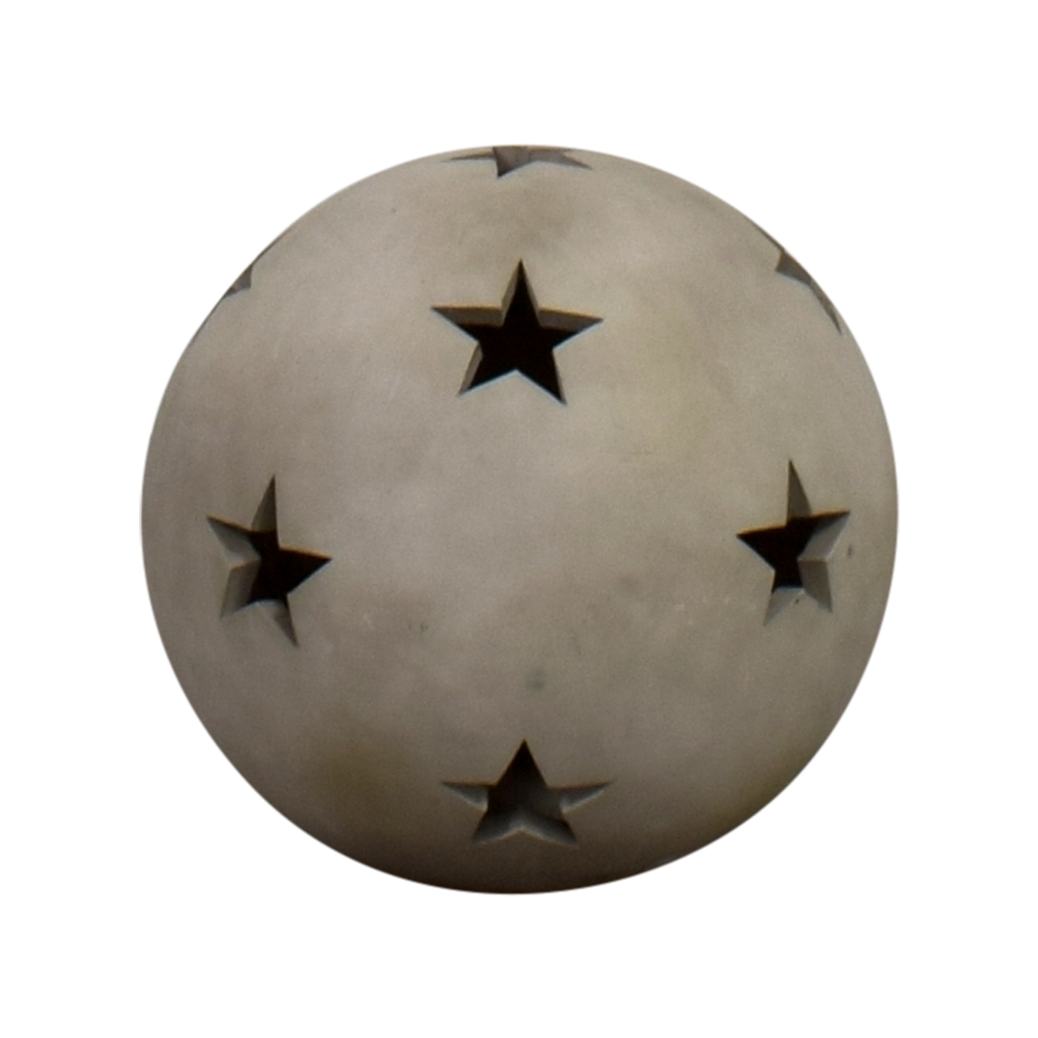 Clay Star Ball Decorative Accents