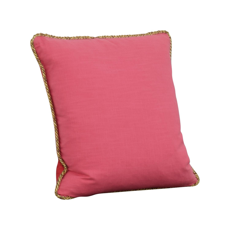 buy Society Social Pink Gold Pillow Society Social