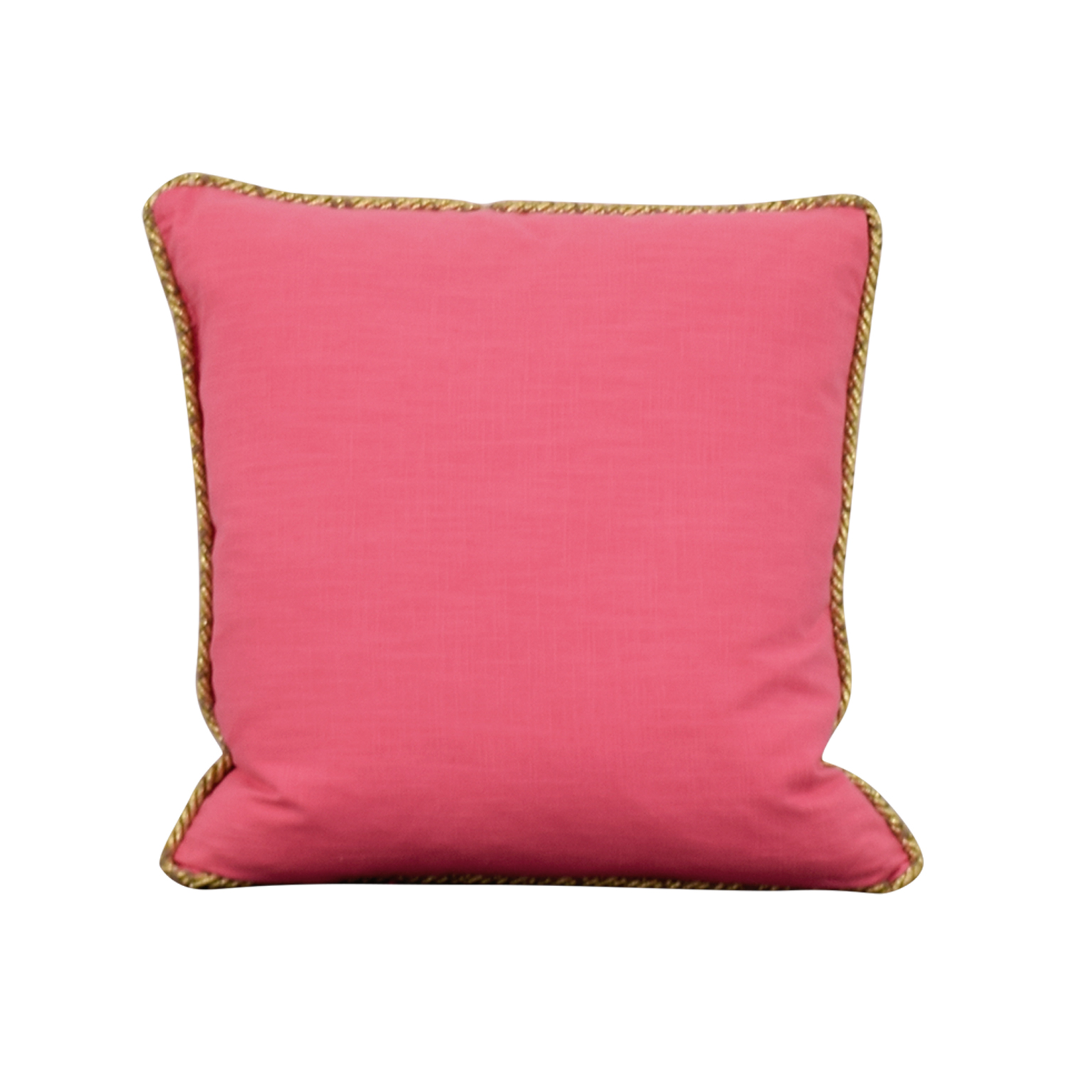 Society Social Pink Gold Pillow Society Social