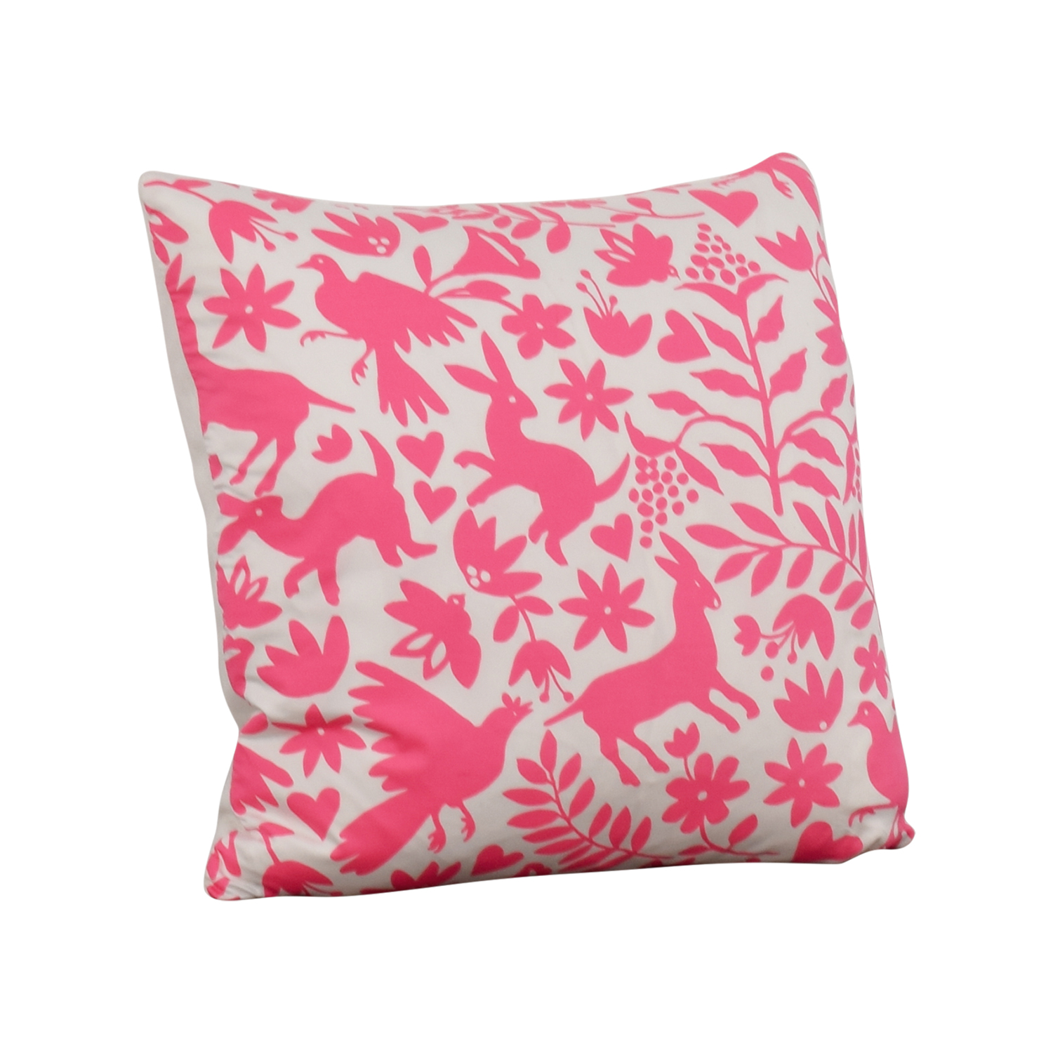 shop Society Social Society Social Pink Pattern Pillow online