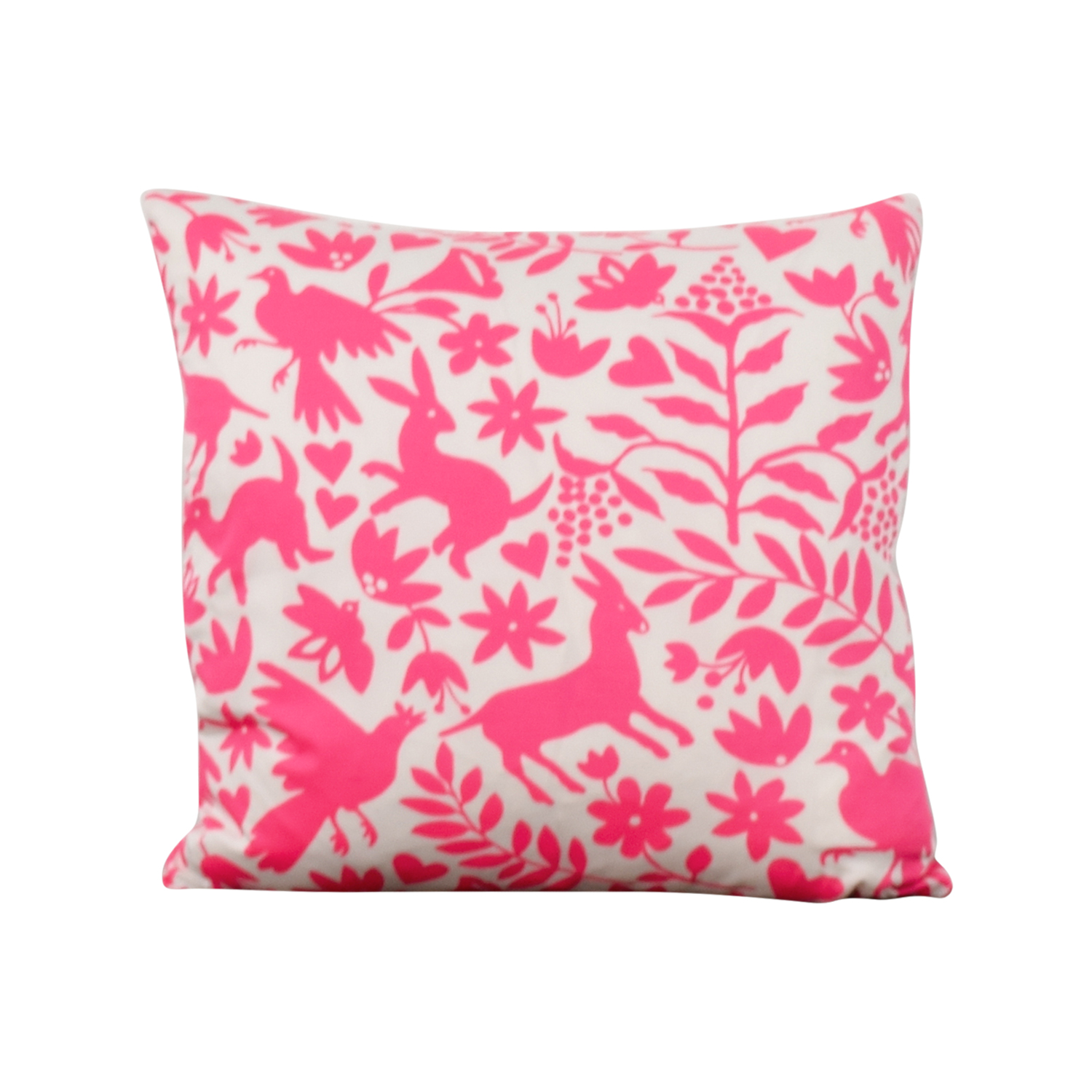 Society Social Pink Pattern Pillow sale