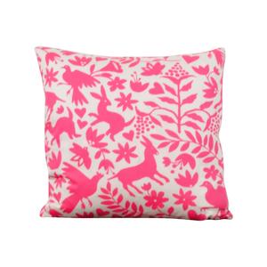 Society Social Society Social Pink Pattern Pillow nyc