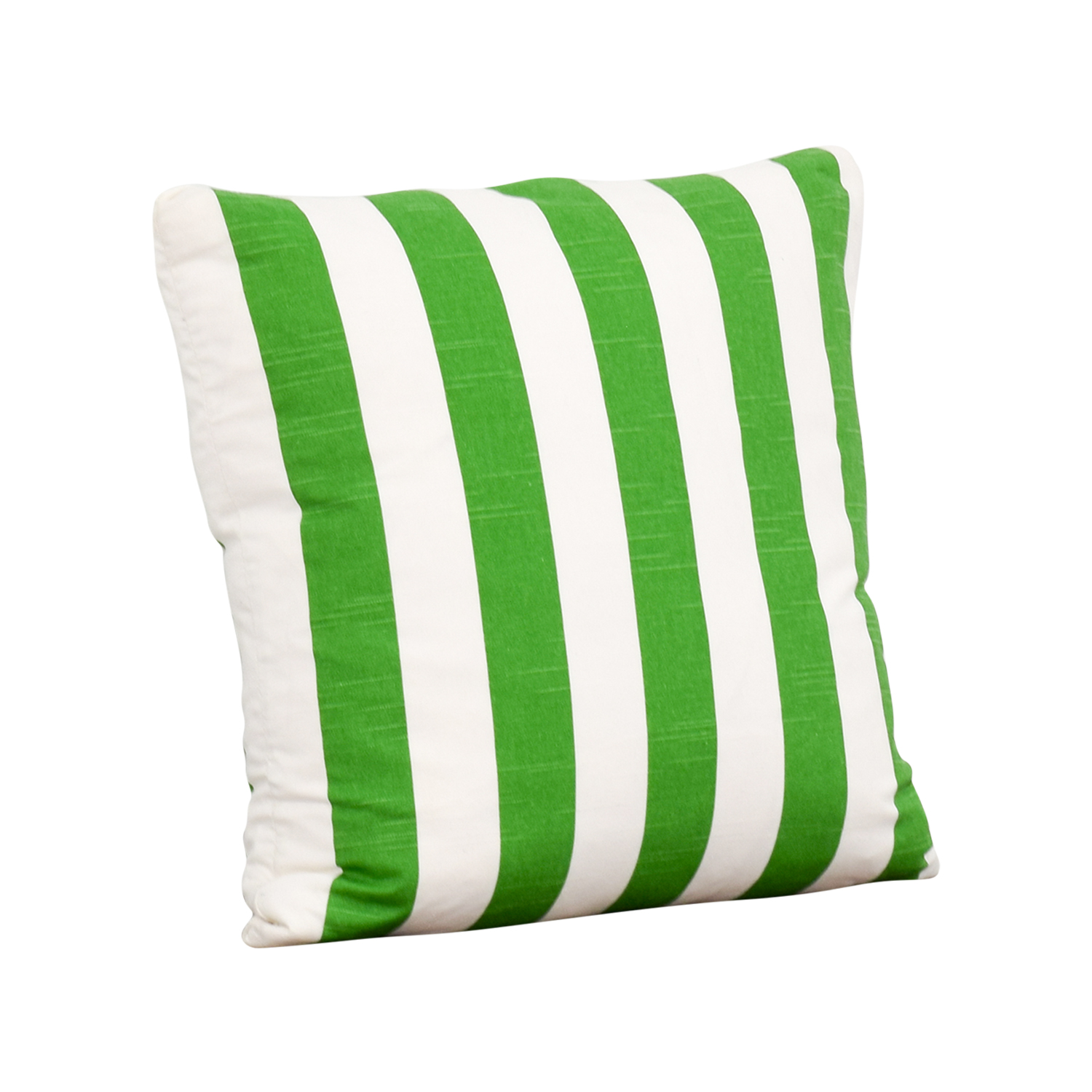 Society Social Society Social Green and White Stripe Pillow nyc