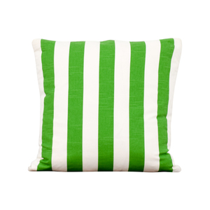 Society Social Society Social Green and White Stripe Pillow coupon