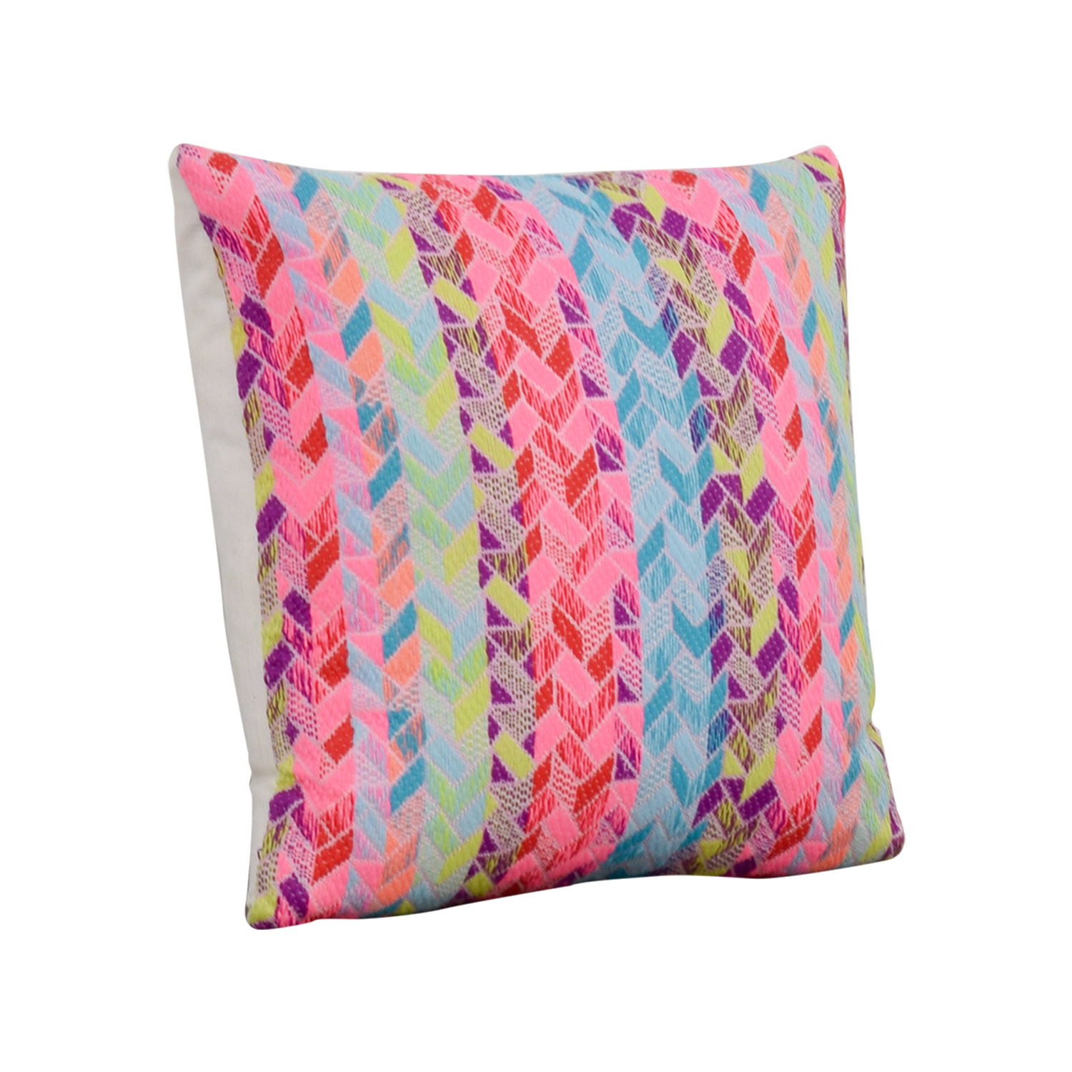 buy Society Social Multi Colored Pattern Pillow Society Social